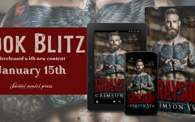 Book Blitz Grayson: Hellbound Lovers MC, #2 By Crimson Syn