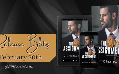 #ReleaseBlitz The Boss Assignment By Victoria Paige