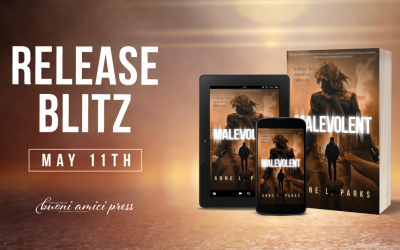 #ReleaseBlitz Malevolent By Anne L. Parks