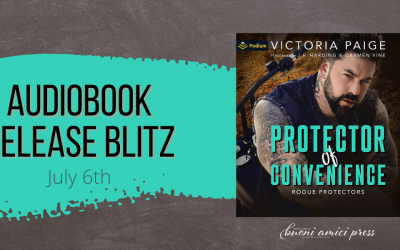 #AudiobookReleaseBlitz Protector of Convenience By Victoria Paige
